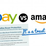 eBay VS Amazon It's a Trust Thing