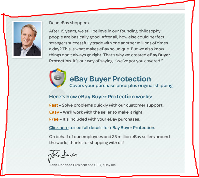Buyer Protection: Its A 'Trust' Thing