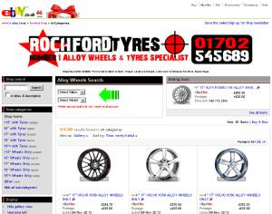 RochFord Tyres eBay Shop