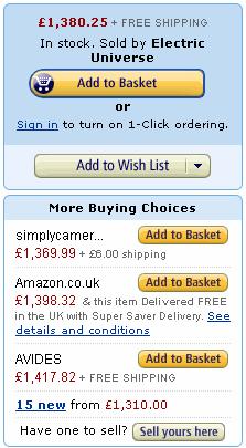 The Amazon Buy Box