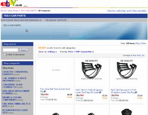 YES-4-CAR-PARTS-ebay-shop