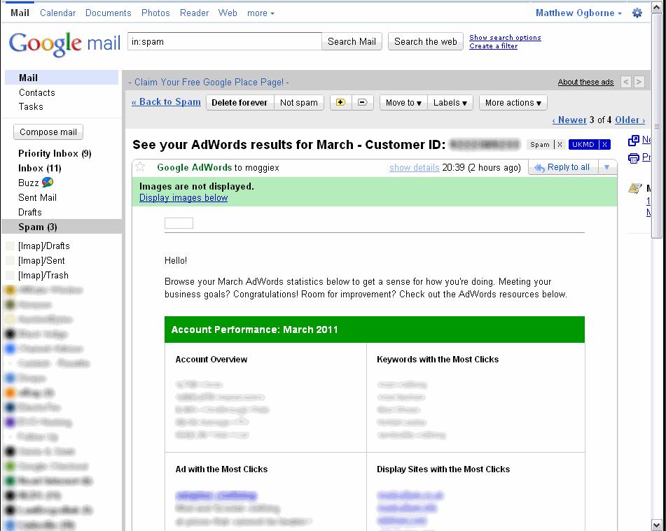 google-adwords-spammed