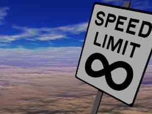 Speed Limit Infinity