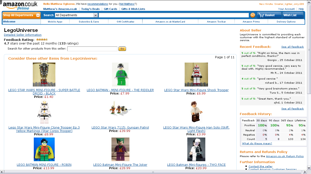 Updated Amazon Seller Pages & How To Update Yours