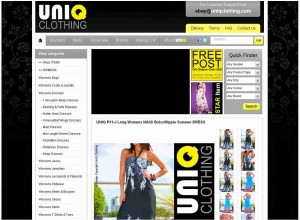 eBay-template-UniQ Clothing
