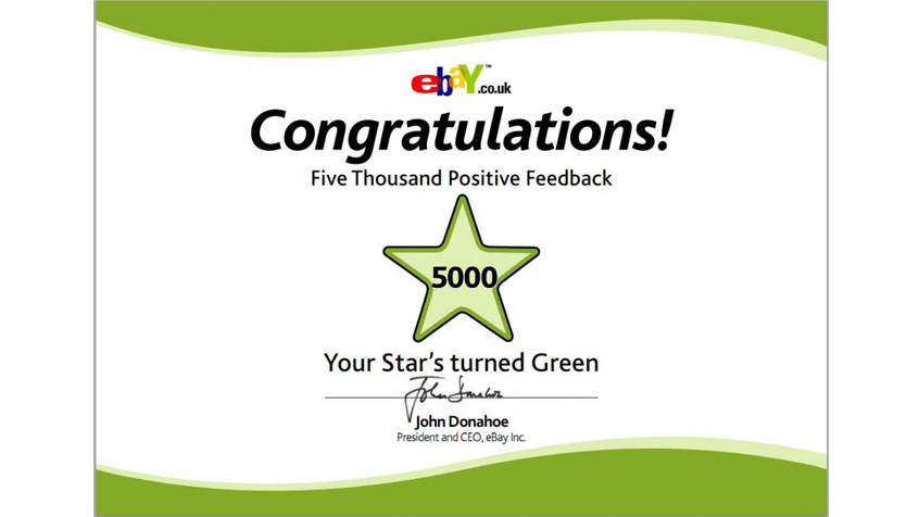 Congratulations Ebay Feedback Stars Pdf S To All Feedback Levels
