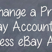 How To: Change a Private eBay Account to a Business eBay Account