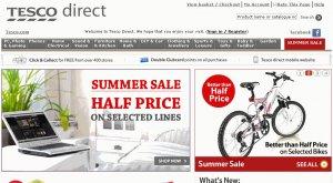 Tesco Direct Website