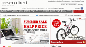Tesco Direct Website
