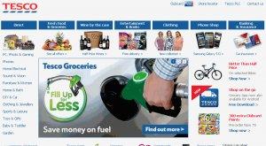 Tesco Main Website