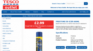 Tesco Outlet eBay Listing Template