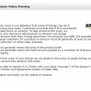 Amazon Gets Aggressive With Price Parity