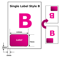 Integrated Label Example