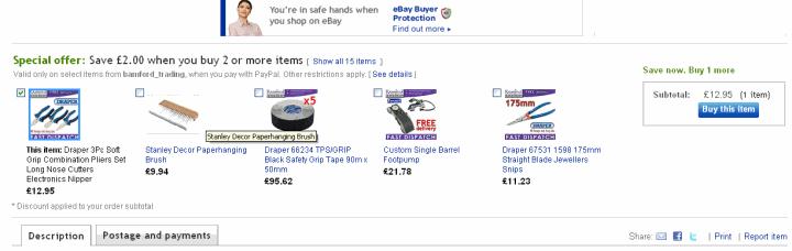 An eBay Bundles Example
