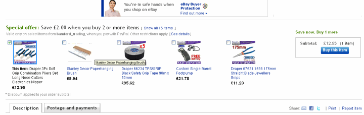 An eBay Bundles Example