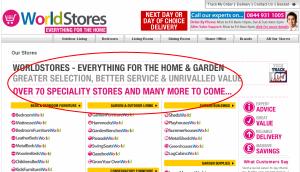 WorldStores +70 Stores