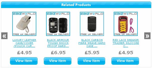 Related Items eBay Widget