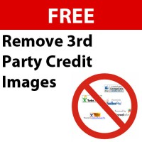 Remove 3rd Party Credit Images from eBay listings