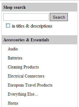 Dynamic eBay Categories Example