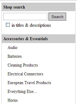 Dynamic eBay Categories Example