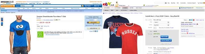 eBay Amazon comparison