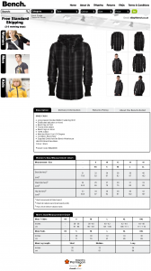 bench_outlet - eBay Listing Template Layout