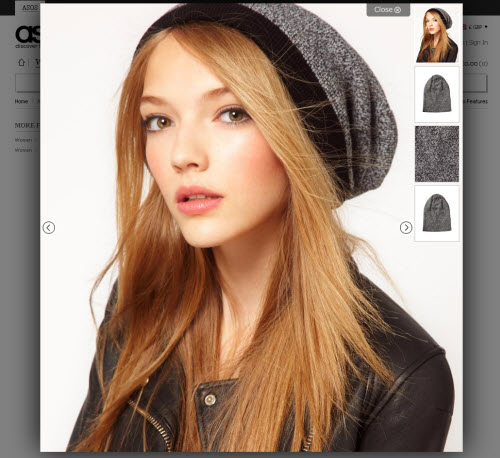 jQuery Example on ASOS