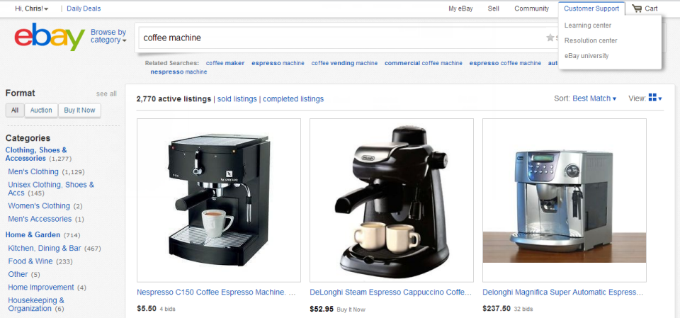 The New eBay Gallery View