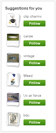 eBay Feed Suggestions