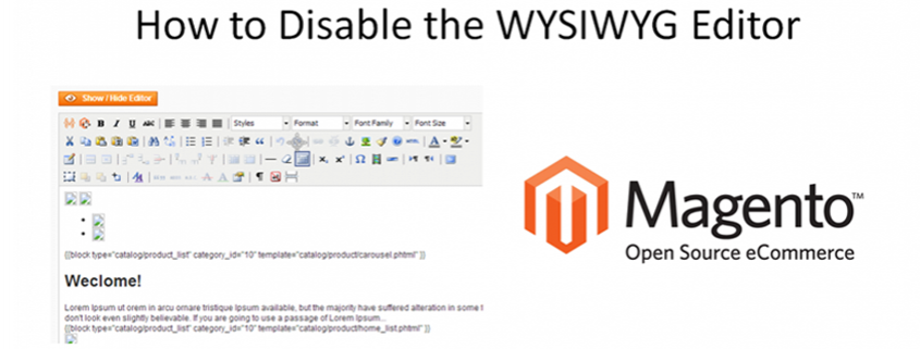 how-to-disable-wysiwyg-editor