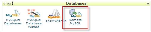 cPanel Allow Remote MySQL Connections