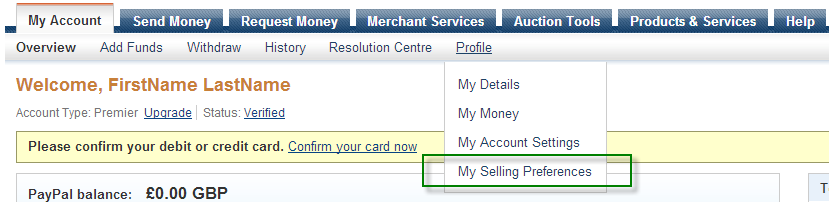 PayPal IPN for Magento Step 1