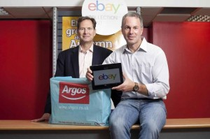 eBay and Argos Click and Collect Service
