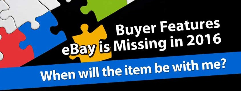 eBays Missing Buyer Features